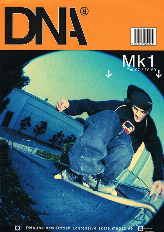 DNA Magazine MK1 Issue